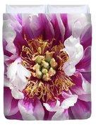 Flower Power In Pink Duvet Cover