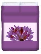 Flower Rise- Lavender Duvet Cover