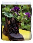 Flower Shoe Pot Duvet Cover