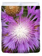 Flower Snowflake Duvet Cover