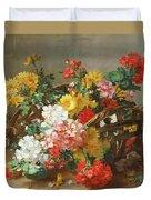 Flower Study Duvet Cover