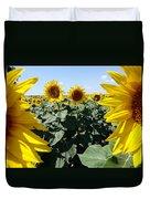 Flower Sunflower,yellow Flower, Duvet Cover