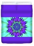 Flower Translucent 19 Duvet Cover