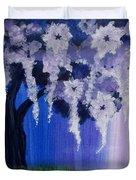 Flower Tree  Duvet Cover