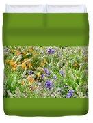 Flower Whispers Duvet Cover