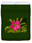 Flower Work Number 17 Duvet Cover