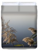 Flowering Cane Plant Duvet Cover