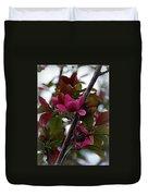 Flowering Crabapple Duvet Cover