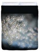 Flowering Dill Macro Duvet Cover