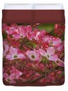 Flowering Dogwood Flowers 01 Duvet Cover