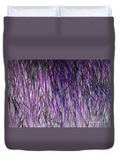Flowering Grass Of The Future Duvet Cover