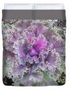 Flowering Kale Duvet Cover
