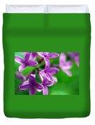 Flowering Lilac Duvet Cover