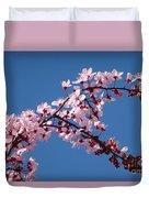 Flowering Of The Plum Tree 4 Duvet Cover