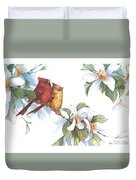 Flowering Season II Duvet Cover