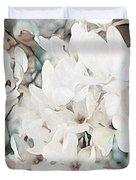 Flowering Star Magnolia Duvet Cover