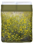 Flowering Tarweed Duvet Cover