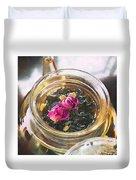 Flowering Tea  Duvet Cover