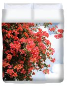 Flowering Tree Duvet Cover