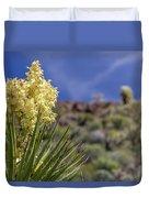 Flowering Yucca Duvet Cover