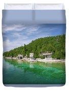 Flowerpot Island - Georgian Bay, Ontario Duvet Cover
