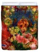 Flowers 1902 Duvet Cover