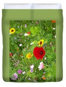 Flowers 2 Duvet Cover