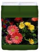 Flowers 728 Duvet Cover