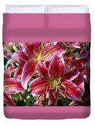 Flowers 731 Duvet Cover