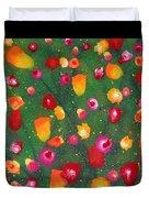 Flowers Afloat Duvet Cover