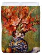 Flowers And Fruit 1889 Duvet Cover