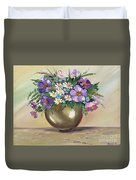Flowers,still Life Duvet Cover