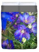Flowers Blooming Duvet Cover