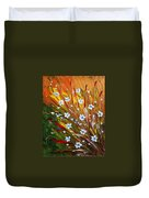 Flowers Field Duvet Cover