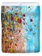 Flowers For The Bees Duvet Cover