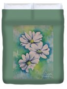 Flowers For You Duvet Cover