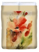 Flowers For You Duvet Cover by Draia Coralia