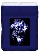 Flowers In Velvety Tones Duvet Cover