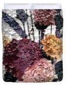 Flowers In Winter Duvet Cover