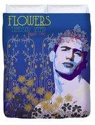Flowers Of Lindsay Kemp Duvet Cover