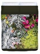 Flowers Of Boca II Duvet Cover