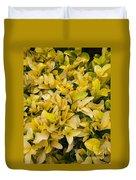 Flowers Of Domitilla Duvet Cover