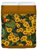 Flowers Of Joy Duvet Cover