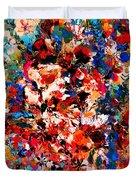 Flowers Of Love Duvet Cover