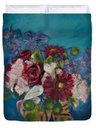 Flowers Of Remembrance Duvet Cover