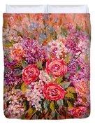 Flowers Of Romance Duvet Cover