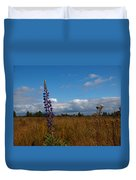 Flowers Of Leaving Summer Duvet Cover