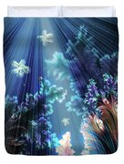 Flowers Of The Sea Duvet Cover