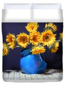 Flowers Of The Sun Duvet Cover