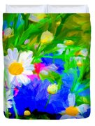 Flowers Two Duvet Cover